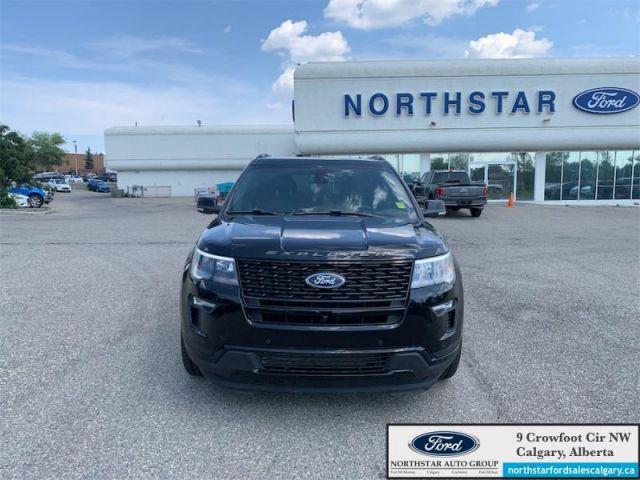 2018 Ford Explorer Sport  |SPORT| MOONROOF| BUCKET SEATS| NAV| - $286 B/W