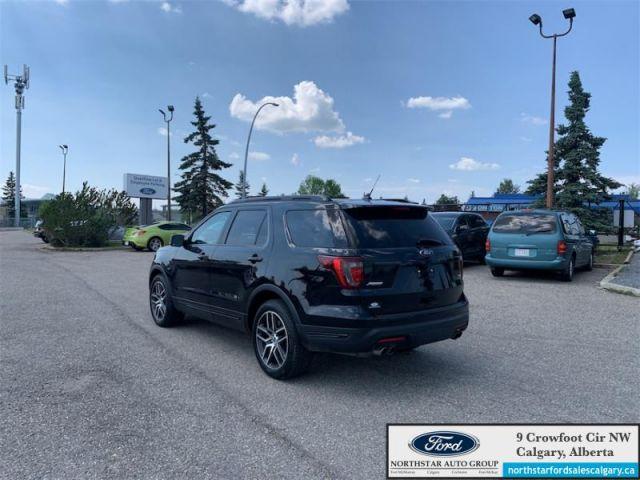 2018 Ford Explorer Sport   SPORT  MOONROOF  BUCKET SEATS  NAV  - $286 B/W