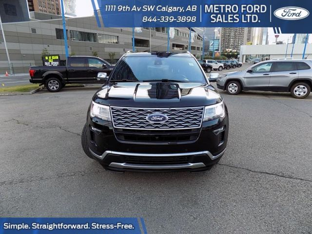 2018 Ford Explorer Platinum  - $326 B/W
