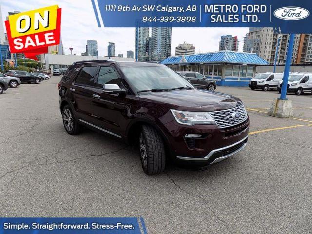 2018 Ford Explorer Platinum  - $338 B/W
