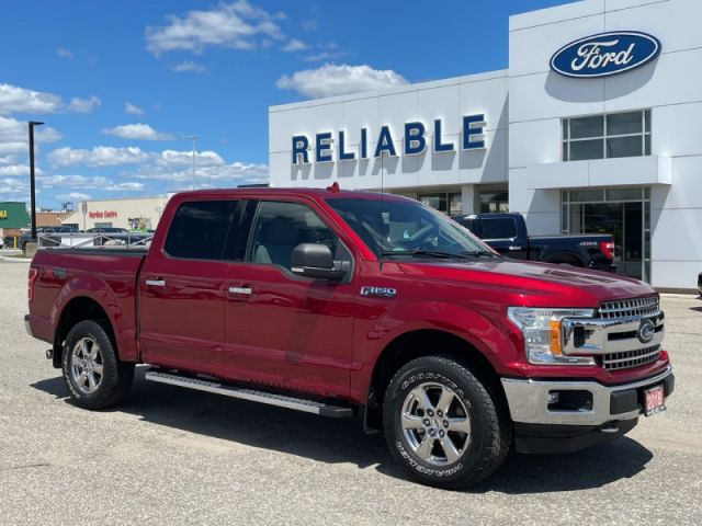 2018 Ford F-150 XLT  XTR Package- 302A Package- Navigation- Remote Start- Tailga