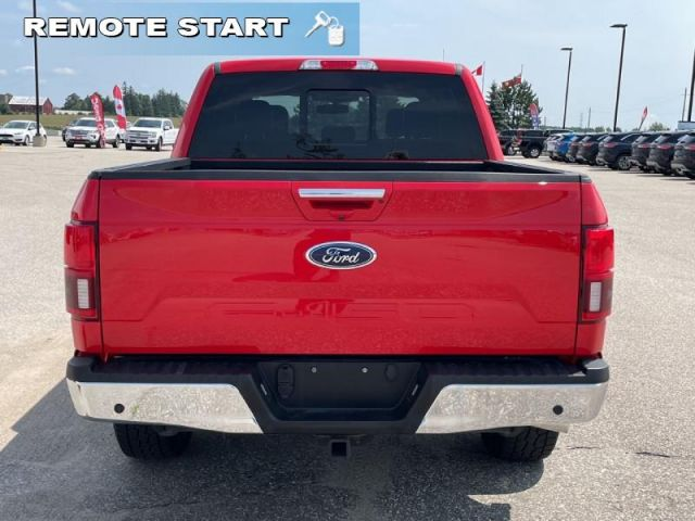 2018 Ford F-150 Lariat  Lariat Chrome Package- 502A Package-Leather Interior- He