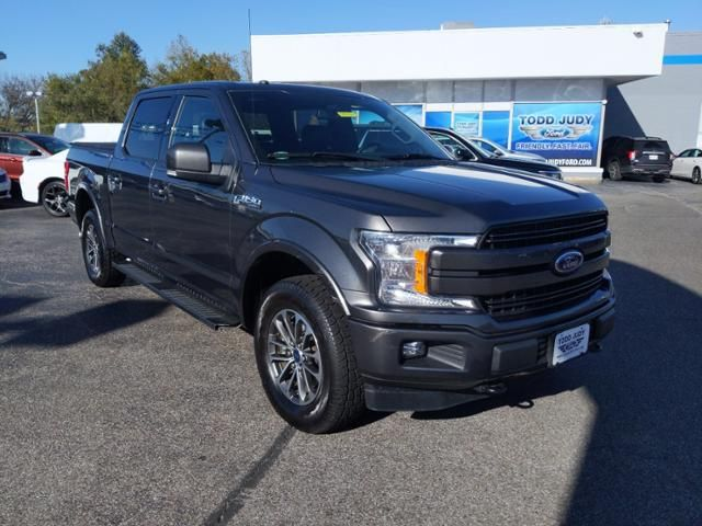 2018 Ford F-150 LARIAT 4WD SuperCrew 5.5 Box