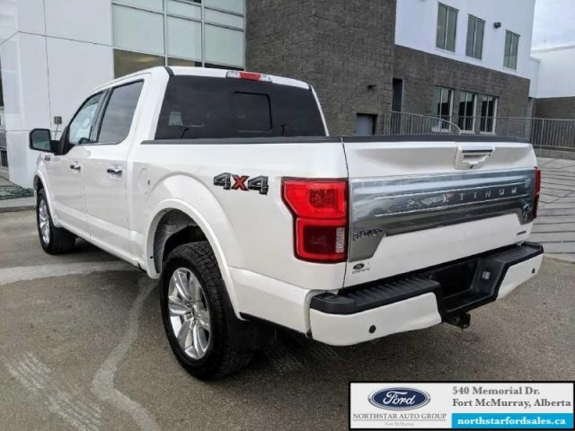 2018 Ford F-150 Platinum  |3.5L|Rem Start|Nav|Twin Panel Moonroof|Tech Pkg