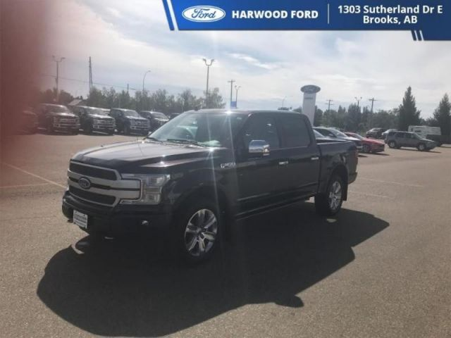 2018 Ford F-150 PLATINUM-NAVIGATION-TWIN MOONROOF-402 B/W