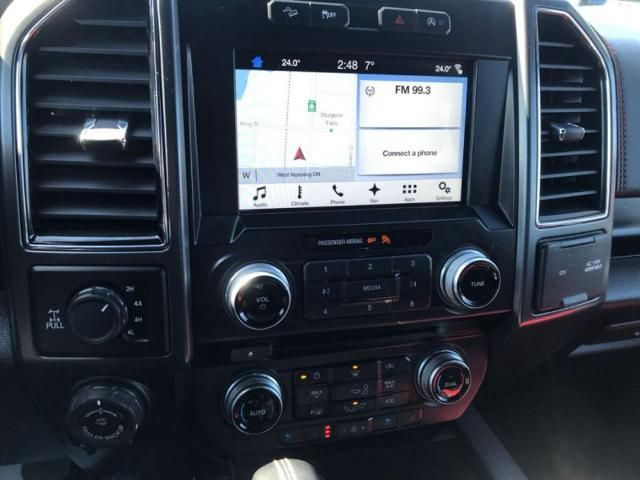 2018 Ford F-150 LARIAT-ONE OWNER-LOCAL-TRADE-IN-322 B/W