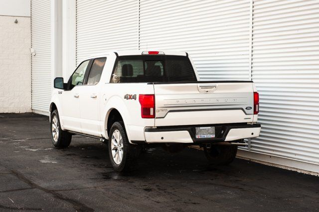 2018 Ford F-150 Platinum / HEATED & COOLED LEATHER / NAV / MOON ROOF/ REMOTE STA