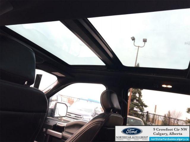 2018 Ford F-150 Platinum  |ECOBOOST| MOONROOF| NAV| ONE OWNER| - $355 B/W