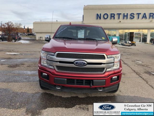 2018 Ford F-150 Platinum  |ECOBOOST| MOONROOF| NAV| ONE OWNER| - $355 B/W