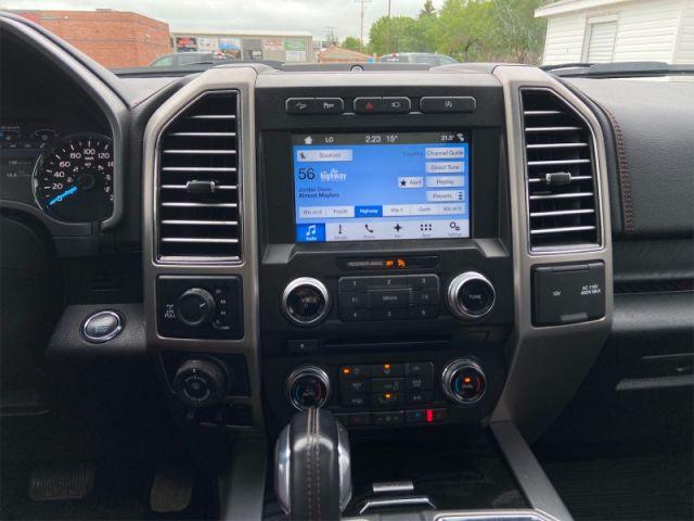 2018 Ford F-150 SUPERCREW PLATINUM 4X4   - Navigation -  Leather Seats
