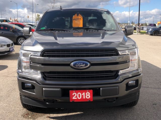 2018 Ford F-150 Lariat  Sport 502A Package- Navigation- Leather Interior- Panora