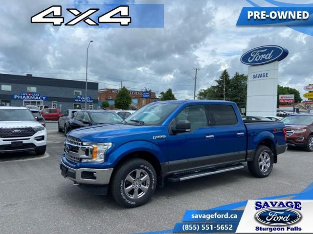 2018 Ford F-150 XLT  - Trade-in - One owner - Back Up Sensors - $322 B/W