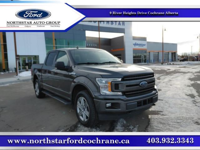 2018 Ford F-150 XLT  |4.9% CPO UP TO 72 MONTHS|302A SPORT|  $286 B/W