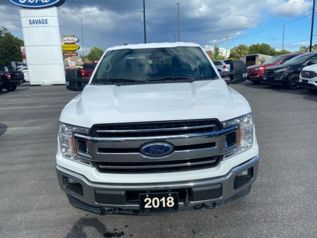 2018 Ford F-150 XLT  - Trade-in - Back Up Camera - $244 B/W