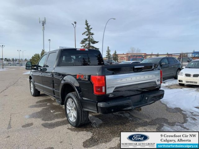 2018 Ford F-150 Platinum  |MOONROOF| TECH PKG| ADAPTIVE CRUISE| MAX TOW|