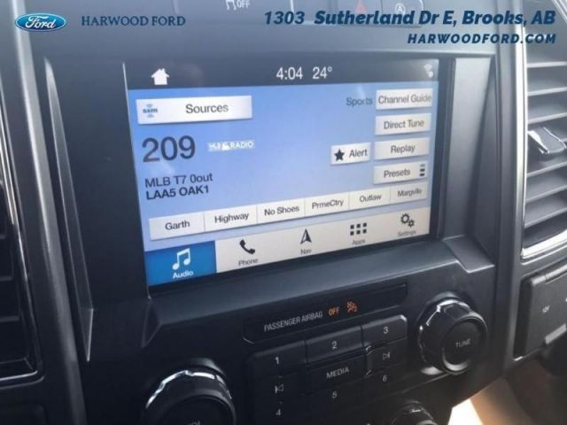 2018 Ford F-150 XLT-BLUETOOTH-SIRIUSXM-297 B/W