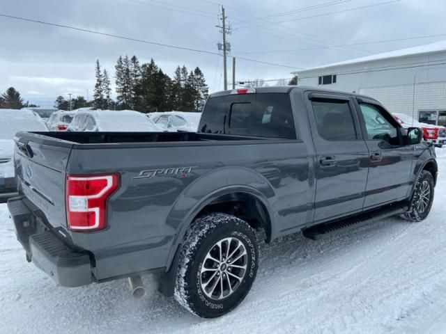 2018 Ford F-150 XLT-ONE OWNER-TRADE-IN-NAVIGATION-285 B/