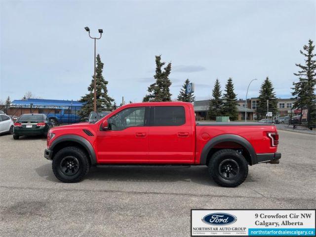 2018 Ford F-150 Raptor   | 802A PKG| MOONROOF| TECH PKG| NAV|- $585 B/W