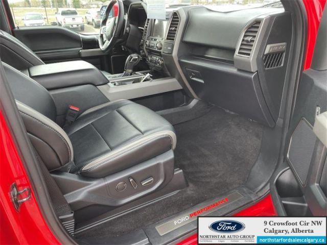 2018 Ford F-150 Raptor     802A PKG  MOONROOF  TECH PKG  NAV - $585 B/W