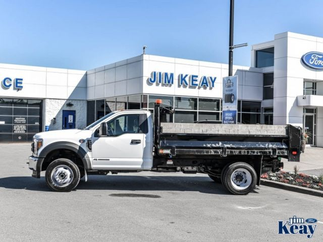 2018 Ford F-550 Chassis Cab XL  -  Trailer Hitch