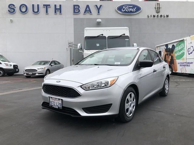 2018 Ford Focus S Sedan
