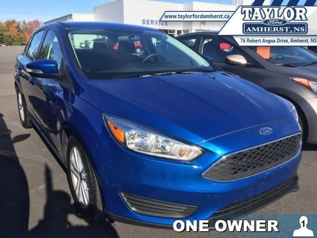 2018 Ford Focus SE  - Trade-in - Local - One owner - $114.01 B/W