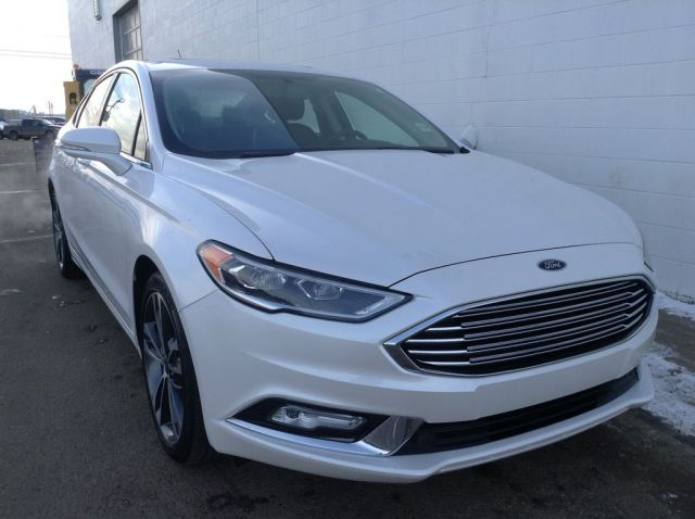 2018 Ford Fusion 4 Door Car