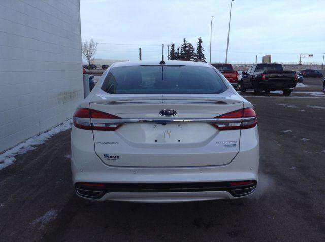 2018 Ford Fusion 4 Door Car