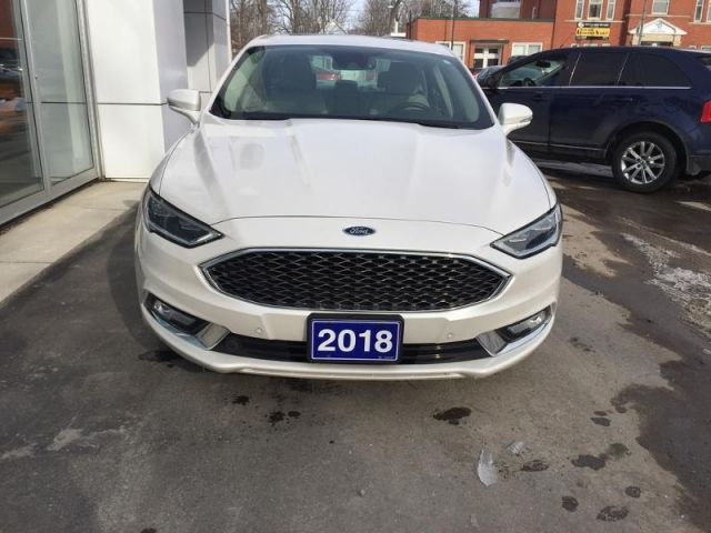 2018 Ford Fusion Platinum  - Trade-in - Sunroof - $169 B/W