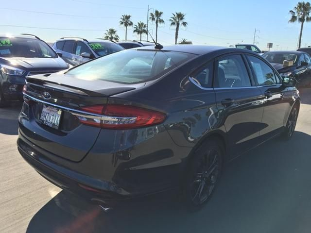 2018 Ford Fusion S FWD