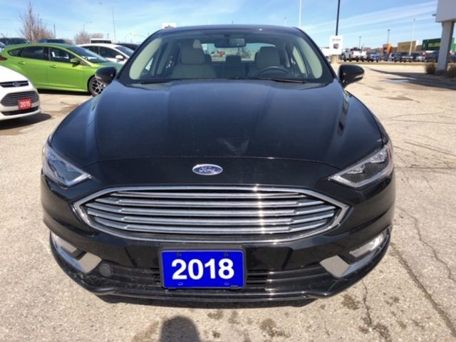 2018 Ford Fusion Titanium  - Leather Seats -  Bluetooth - $169.36 B/W