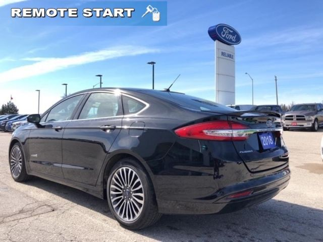2018 Ford Fusion Titanium   /Hybrid/Leather/Sunroof/Navigation