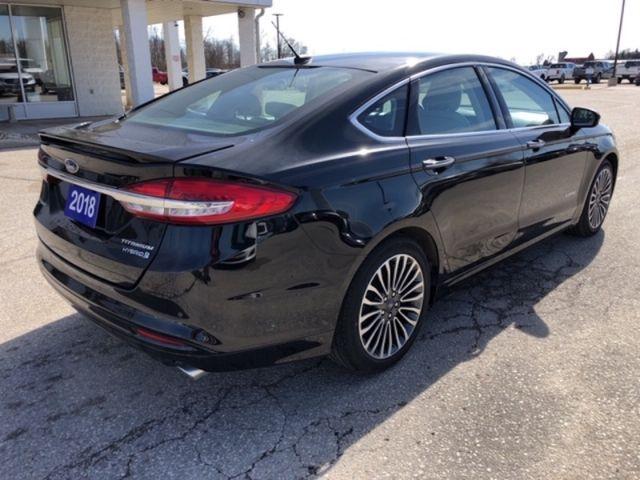 2018 Ford Fusion Titanium   /Hybrid/Leather/Sunroof/Navigation