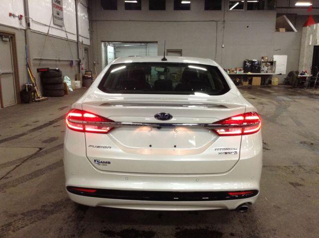 2018 Ford Fusion Hybrid 4 Door Car