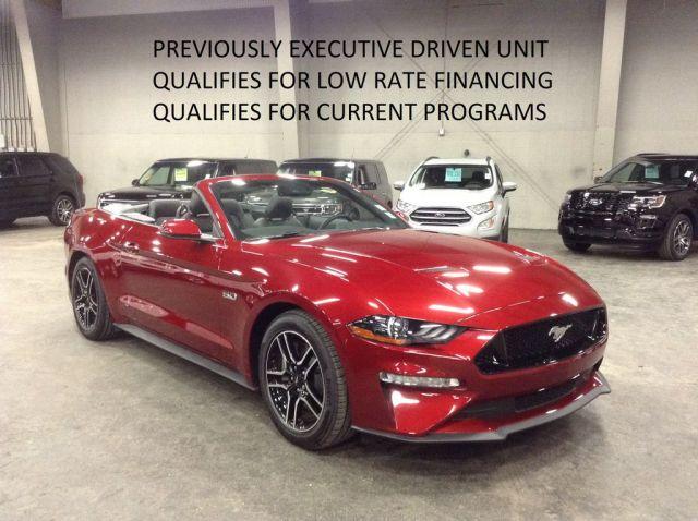 2018 Ford Mustang 2 Door Car