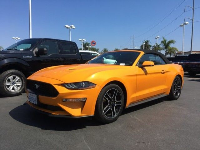 Used 2018 Ford Mustang Ecoboost Premium Convertible For Sale