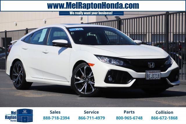 2018 Honda Civic Si Sedan