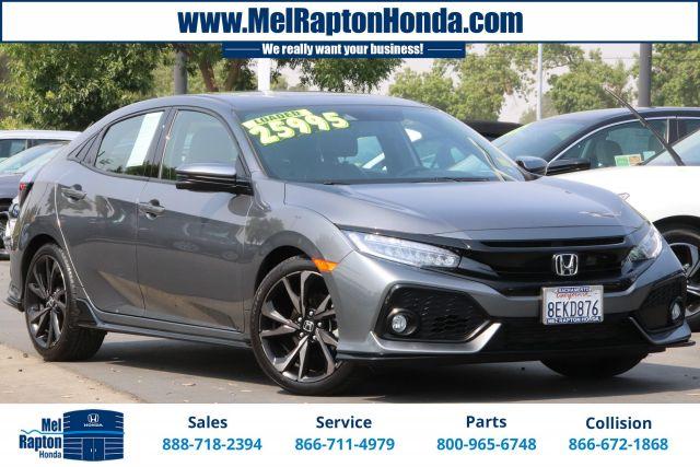 2018 Honda Civic Sport Touring Hatchback