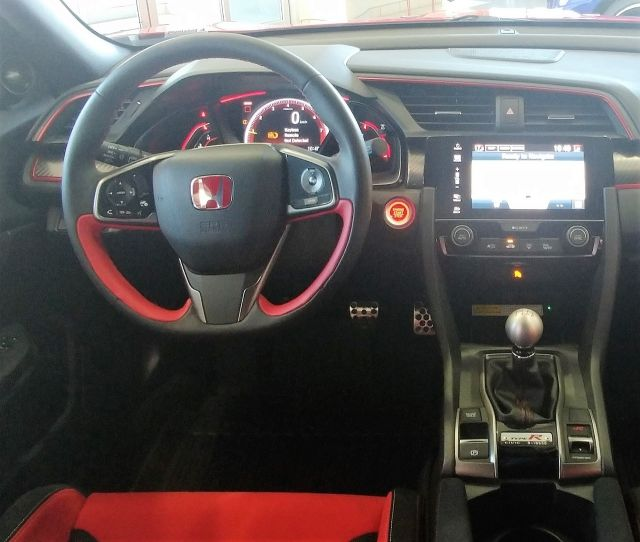 2018 Honda Civic Type R - Navi