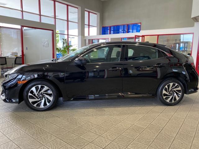 2018 Honda Civic Hatchback LX CVT