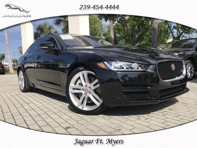 certified 2018 jaguar xe for sale in fort myers, fl | jaguar usa