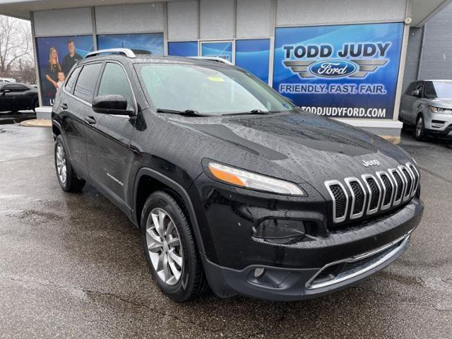 2018 Jeep Cherokee Limited 4x4