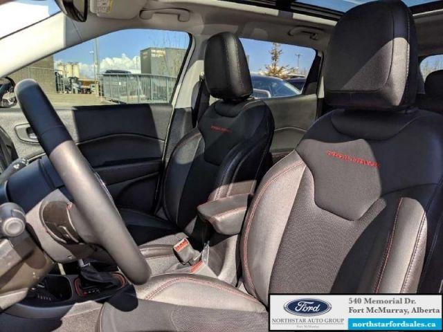 2018 Jeep Compass Trailhawk   2.4L Rem Start Nav Dual Pane Panoramic Sunroof