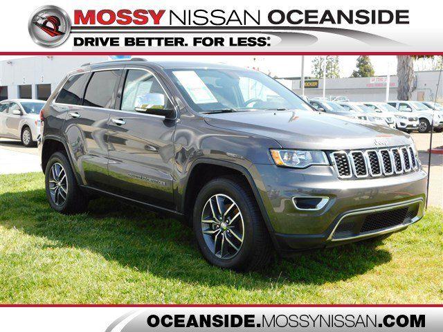 Jeep Dealership San Diego >> 2018 Jeep Grand Cherokee For Sale In San Diego San Diego Area