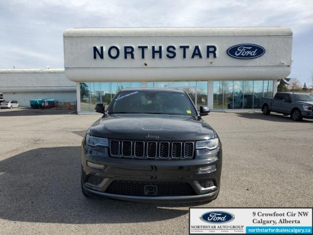 2018 Jeep Grand Cherokee Overland   DIESEL  OVERLAND  LEATHER  NAV  SUNROOF 