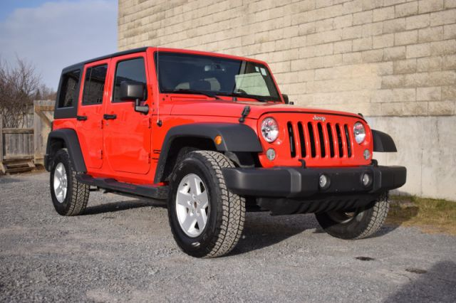 2018 Jeep Wrangler Unlimited Sport  | 4X4 | SIRIUSXM READY |