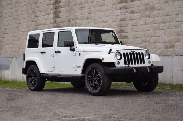 2018 Jeep Wrangler Unlimited Sahara  | 4X4 | LEATHER |