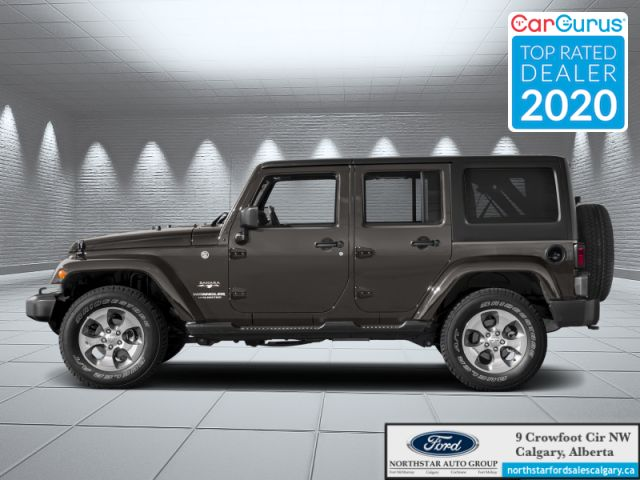 2018 Jeep Wrangler Unlimited Sahara  |LEATHER| 4 DOOR| ROOF TENT| UPFITTED FOR OUTDOORS|