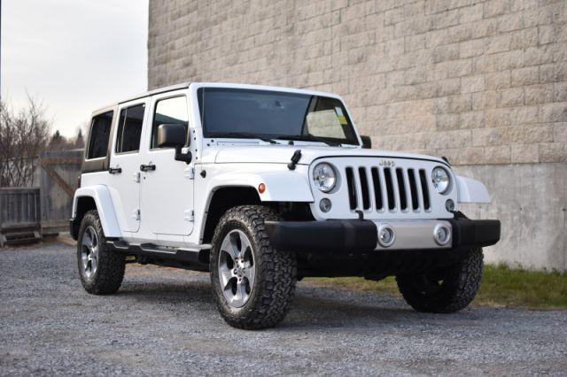 2018 Jeep Wrangler Unlimited Sahara  - Bluetooth