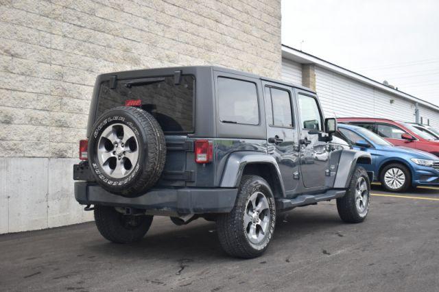 2018 Jeep Wrangler Unlimited Sahara    LEATHER   HEATED SEATS   NAV  